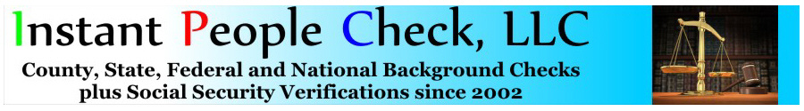 Instant National or State Background Check